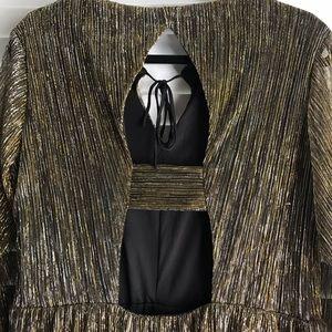 Xhilaration Dresses - Golden metallic dress